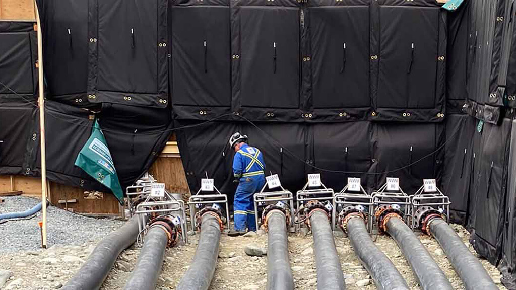 industrial pumping